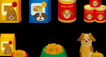 Inzameling honden eten